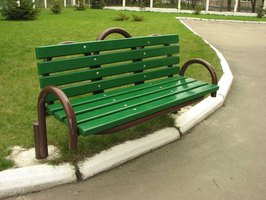 Properly painted metal can extend the life of outdoor metal furniture.