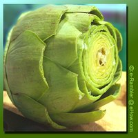 Artichoke for steaming and eat