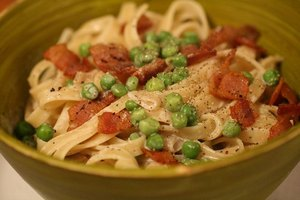 Pasta, peas and beef are good coenzyme sources
