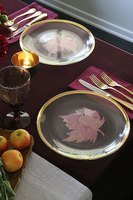 Make a Fall Leaf Place Card