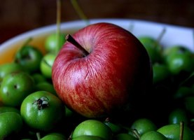 Apples help reduce acid reflux.
