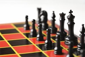 Chess is a popular type of board game for older kids.