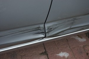 Collision repair technicians repair car damage caused by accidents.
