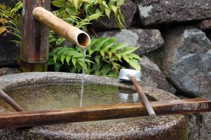 Noisy water fountain pumps can ruin the tranquil atmosphere.
