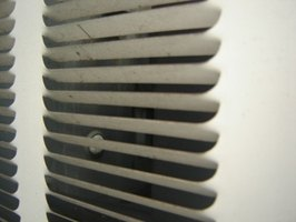 Air conditioners' cool air uses evaporators.