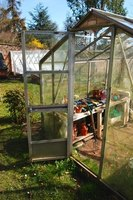 A small greenhouse