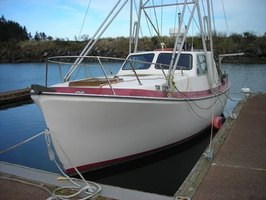 Remove water stains from a boat with toilet cleaner.