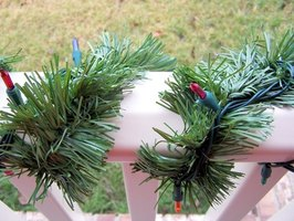 Garland is a common Christmas decoration for both the inside and outside of your home.