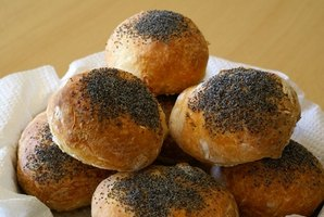 Blue poppy seeds are popular in European baking recipes.