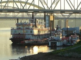 Find a riverboat cruise down the Mississippi River.