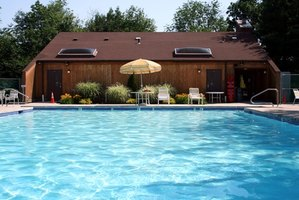 Keep your pool clean with a vacuum system.