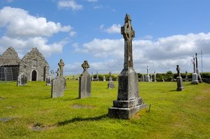 The Irish countryside is dotted with centuries-old cemeteries.