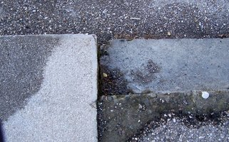 Stains on concrete walls should be cleaned as soon as possible so the stain does not set