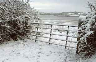 Tube gates are durable and withstand high winds, snow and ice