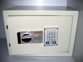 Electronic safes come in a variety of sizes.