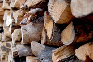 Oak and other hardwoods generate more heat per cord than softwoods.