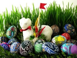 Easter eggs are the basis for many Easter-related games.