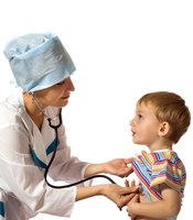 Monitoring a four year old child's vital signs