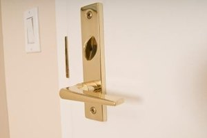 Install deadbolt locks and other security measures.