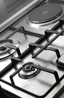 The stove top can be a key element in kitchen design.