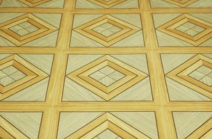 Linoleum flooring comes in many colors and patterns.