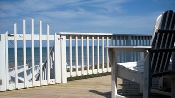An upstairs deck can add to your home's overall value.
