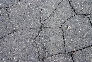 Recycled asphalt is reclaimed from demolished building projects and road construction.