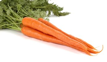Carrots can easily be grown in the small space of a planter box.