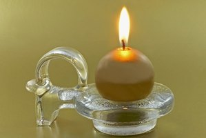 A simple candle can help you clear residual energy from your home.