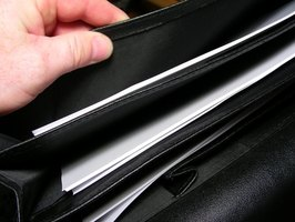 Use an accordion file folder to organize your bills.