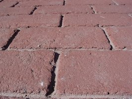 Brick pavers can be cleaned of oil stains.