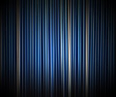 Vertical blinds come in many different shapes and colors.