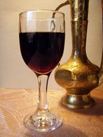 The pigment in red wine permanently stains most surfaces.
