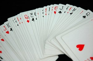 Playing cards are a common prop in magic tricks.