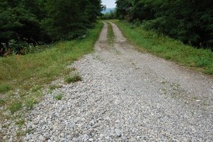 Create an attractive and practical gravel driveway.