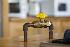 It's important to know where all shut off valves are located throughout your house.