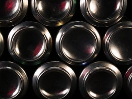 Aluminum cans are used in all parts of the world.