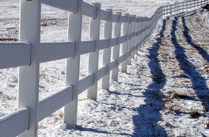 Vinyl fences are initially more expensive but are low maintenance.