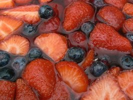 Make homemade jelly with fresh fruit.