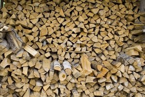 A stack of seasoned firewood is money in the bank.