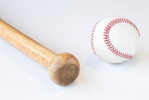 Most wooden baseball bats are made out of four types of wood.