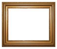 You can repair most nicks and scratches in a wood picture frame.