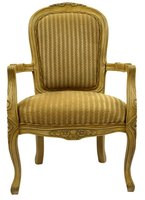 Chair design in the eighteenth and nineteenth centuries became an art form.