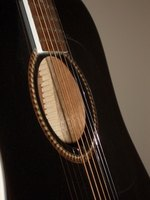 Making an acoustic guitar sound good requires knowledge of the instrument.
