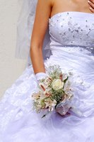 Many brides choose to legally change their names after getting married.
