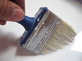 Enamel paint can be used with a brush, roller or as a spray.