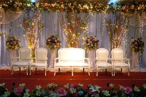 Stage decorating can be simple or complicated, but is always created with the nature of the production in mind.