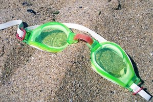 Properly worm swim goggles will keep yours eyes free of irritation.