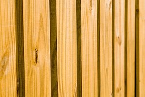 Most wood fences are built using the same principles.