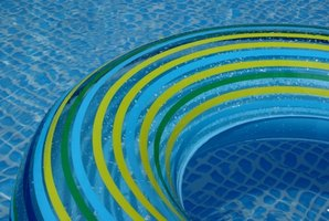 Muriatic acid can help keep your swimming pool water balanced.